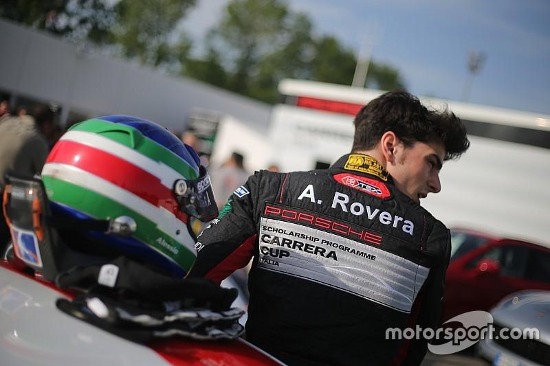 Alessio Rovera al top nel secondo turno di libere a Vallelunga