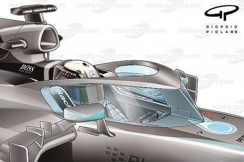 """توجّه جدّي في الفورمولا 1 لاعتماد """"حاجز"""" إضافي مع تصميم """"الطوق"""""""