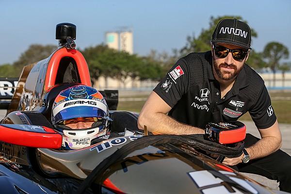 Robert Wickens a effectué son test en IndyCar