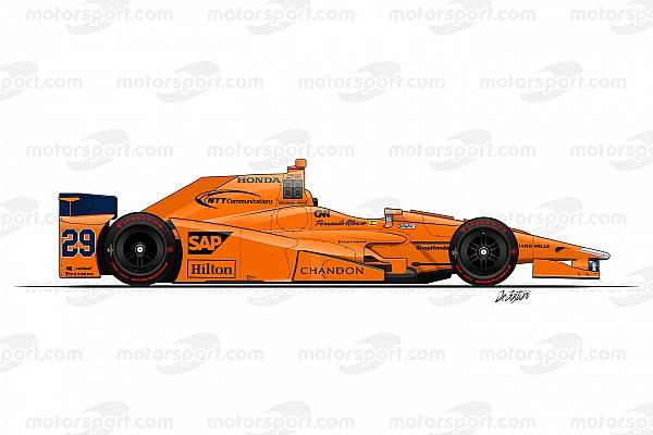 IndyCar Top List GALERÍA: las 33 decoraciones de los coches de Indy 500