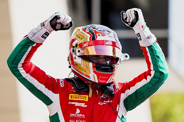Leclerc column: From 14th to first for maiden F2 win