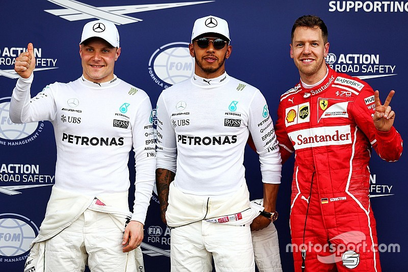 澳大利亚大奖赛排位赛:汉密尔顿夺得杆位,法拉利再次头排发车