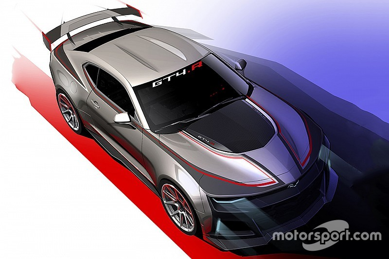 Chevrolet präsentiert neuen GT4-Camaro