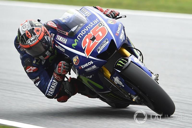 Silverstone MotoGP: Vinales tops FP1 by half a second