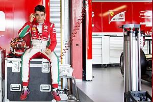 """FIA F2 Entrevista Sette Câmara vê como """"estranho"""" domínio de Leclerc na F2"""