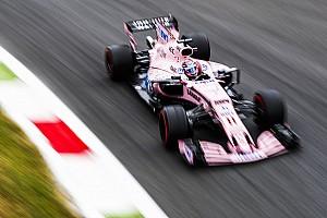 F1 Noticias de última hora Pérez no encontró el equilibrio en el primer día en Monza