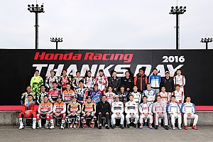General Press release Marquez and Pedrosa celebrate HRC's successful 2016 at Honda Racing Thanks Day