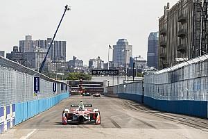 Formula E Reporte de prácticas Rosenqvist dominó los ensayos de la Fórmula E en Nueva York