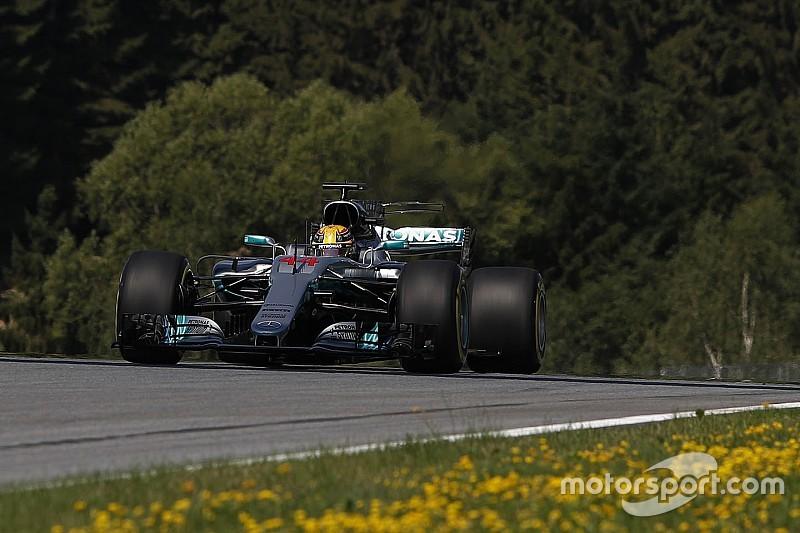 【F1オーストリアGP】FP1速報:ハミルトンがトップタイム。バンドーン7番手