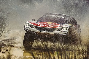 Dakar Stage report Dakar 2017, Stage 2: Loeb sees off Al-Attiyah to take lead