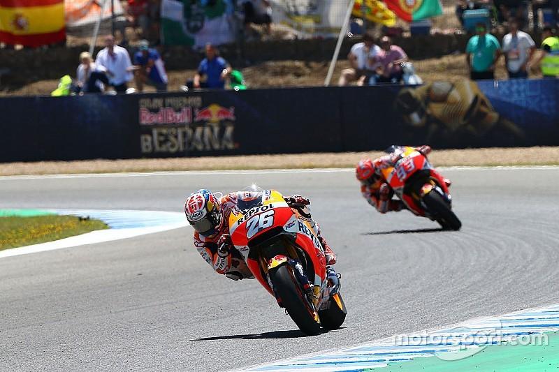 Маркес согласился стать вторым в Испании, испугавшись падения