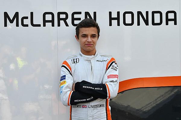 Formel 1 News Lando Norris nach Test für McLaren: Formel 1 für 2018 unwahrscheinlich