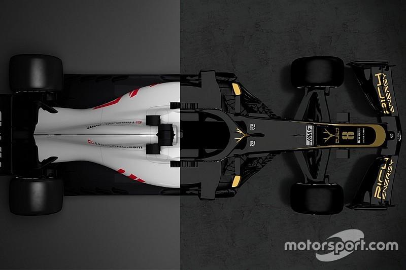 La comparaison des Haas VF-18 et VF-19