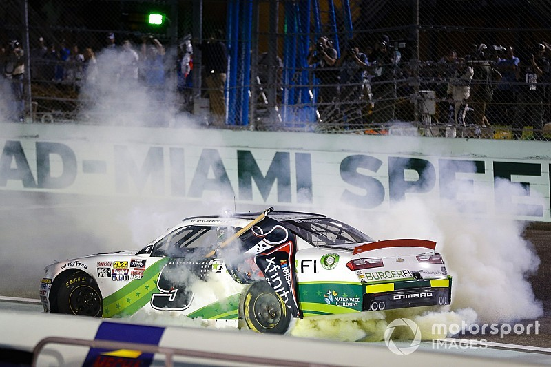 Tyler Reddick takes Xfinity title with surprise win at Homestead