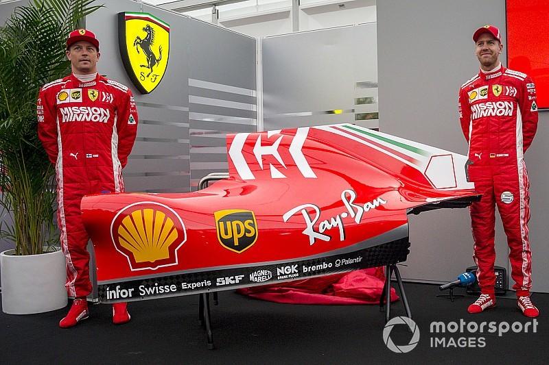 Ferrari presenta la nueva decoración de su Fórmula 1