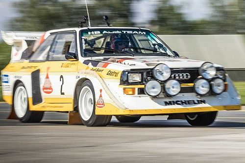 Block wsiada do Audi