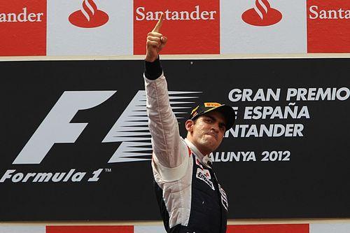 Wurz revela la clave para el triunfo de Maldonado en España 2012