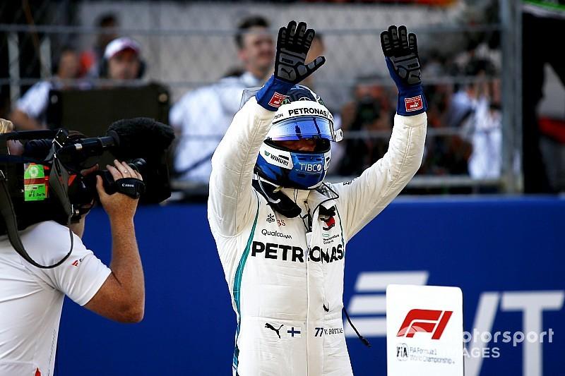 俄罗斯大奖赛排位赛:博塔斯击败汉密尔顿夺得杆位