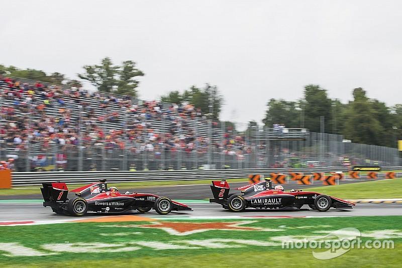 Юбер та Ілотт отримали дискваліфікацію у спринті GP3 в Монці