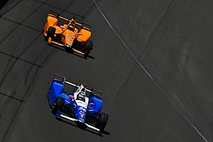 IndyCar Breaking news Sato praises Alonso's driving and feedback at Indy