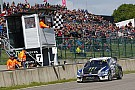 World Rallycross Kristoffersson pilotait avec
