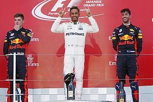 Formula 1 Yarış raporu Japonya GP: Hamilton kazandı, Vettel şampiyonluk mücadelesinde yolda kaldı!