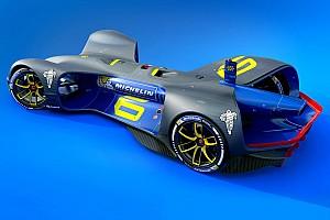 Roborace Breaking news Roborace names Michelin as official tyre supplier