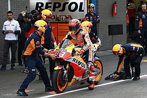 MotoGP Новость Маркес перестал рассчитывать на обновления Honda