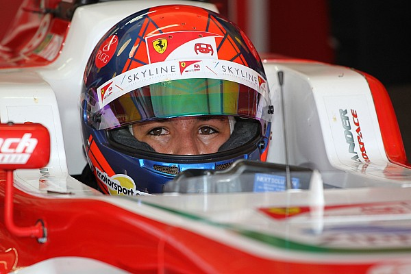 Formula 4 Noticias Enzo Fittipaldi conquista podio en la apertura de la F4 alemana