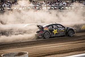 Global Rallycross Race report Tanner Foust wins Red Bull GRC Seattle I