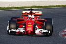 Ferrari зберігає мовчання на тестах Ф1 у Барселоні