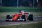Raikkonen rueda con el nuevo Ferrari SF70H
