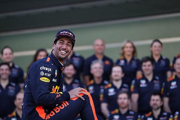 Ricciardo ismét énekelt: elvan az ausztrál