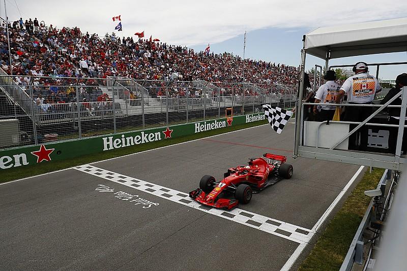 Vettel khawatir saat bendera finis berkibar satu lap lebih awal