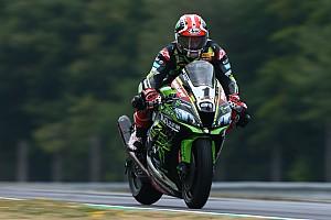 World Superbike Practice report Brno WSBK: Rea tops twice red-flagged Friday running