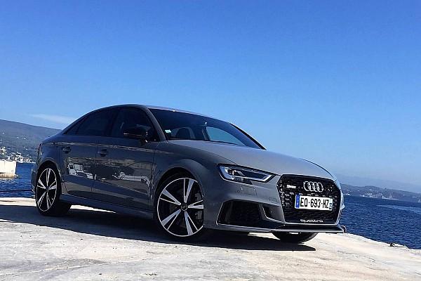 Auto Actualités Notre essai de l'Audi RS3 de 2018: la preuve par cinq!