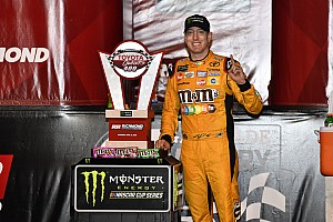 NASCAR Cup Reaktion Kyle Busch unsicher: