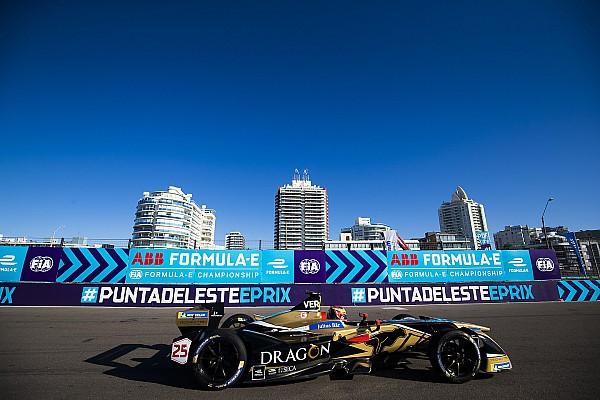 Fórmula E Vergne contuvo los ataques de Di Grassi para ganar en Punta del Este