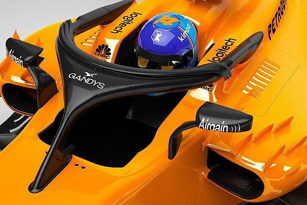 Formula 1 Breaking news McLaren's halo to carry flip-flop sponsorship