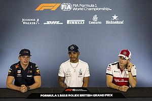 Formula 1 Press conference British GP: Thursday's press conference