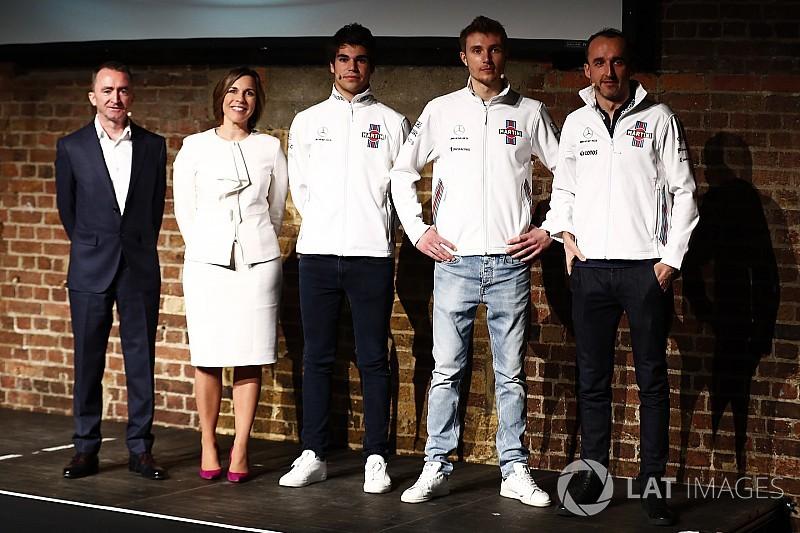 Presença de Kubica é ótima para a Williams, destaca Stroll