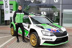 ERC Ultime notizie Martin Koči è la scommessa di ŠKODA Slovakia per l'ERC Junior U28