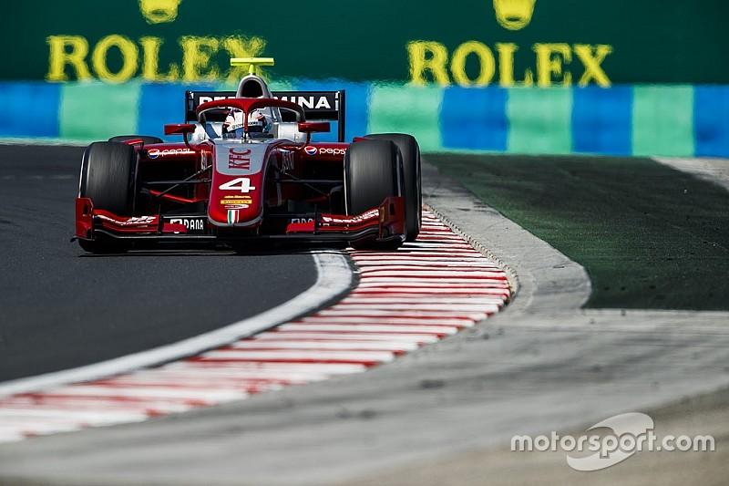 Де Врис выиграл первый поул в Формуле 2