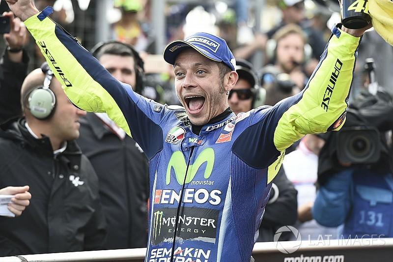 """Rossi dans le coup jusqu'à l'arrivée, """"enfin!"""""""