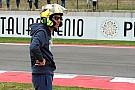 Росси замечен в замаскированном под AGV шлеме Arai