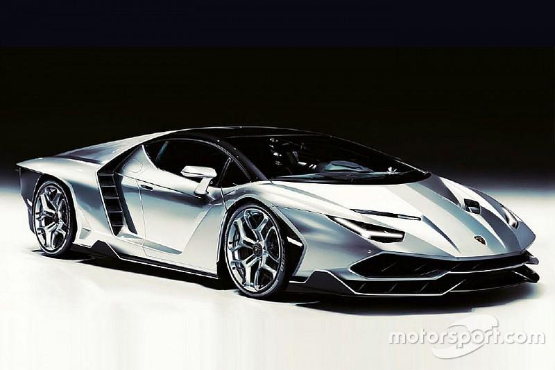 Gelekt: dit is de 770 pk sterke Lamborghini Centenario