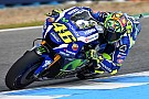 Jerez MotoGP: Rossi denies Marquez by 0.046s in third practice