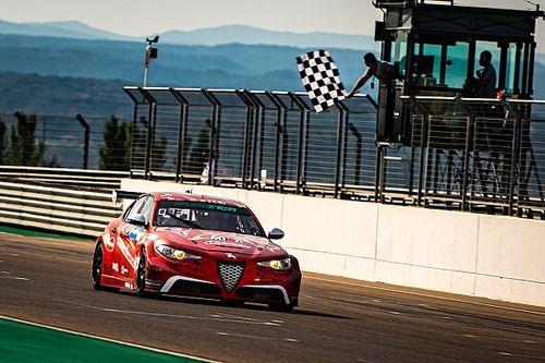 Pure ETCR: l'Alfa Giulia di Romeo Ferraris a podio ad Aragon