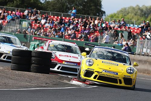 Cammish back on track in Porsche Carrera Cup as Smalley's GT4 Supercup lead cut