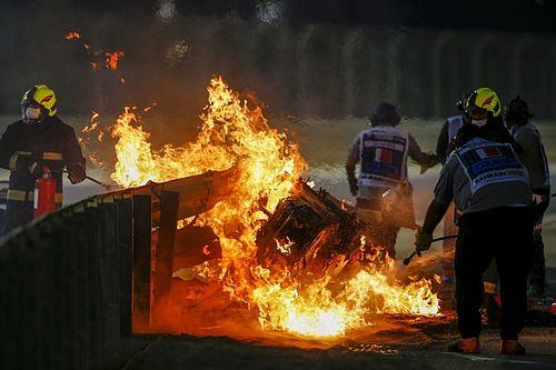 FIA revela la causa del incendio en el accidente de Grosjean